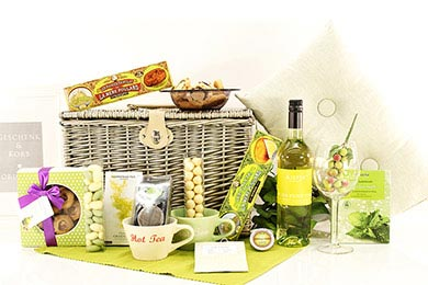 Gift Baskets for Women FOR THE LADY to Europe