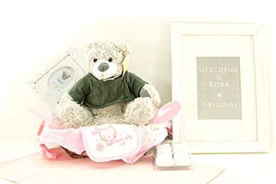 Baby Gifts Europe FIRST TEDDY FOR LITTLE BABY GIRL