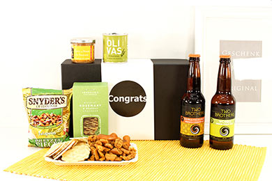 Gift Baskets for Men USA Beer Gift Two Brothers for Europe