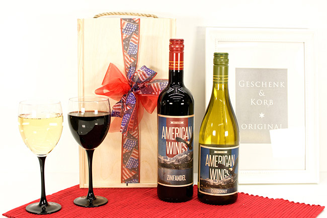 USA WINE GIFTS TWO BROTHERS CALIFORNIA