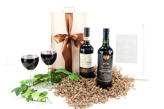 GIFT RED WINE | Italy & France