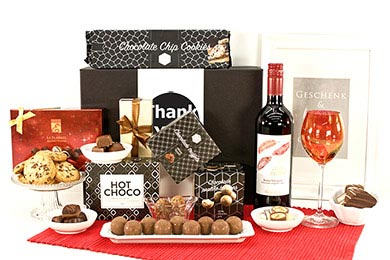 Personalized Gifts WINE & CHOCOLATE Gifts for Europe