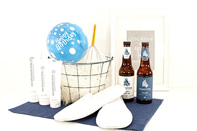Gift Basket PAMPER PROGRAM Spa Gifts for delivery in Europe