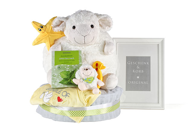 SHEEP Diaper Cake for Boys and Girls