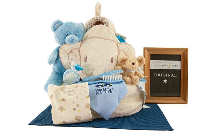 ESSENTIAL | BABY DIAPER CAKE FOR BOYS